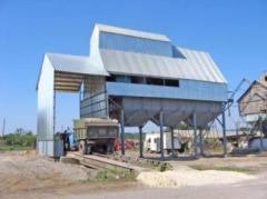 Construction of zernoochistitelny ZAV units