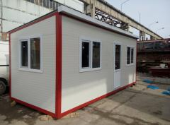 Production of modular buildings