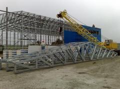 Installation of metal farms