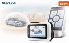 Instalare de sistem de alarmă auto