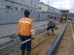 Construction of external networks gazo-and water