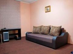 By the day the apartment 2-roomed in the center of