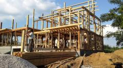 Construction of frame-fabricated houses