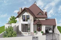 Design of houses (cottages)