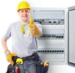 Lucrări de instalaţie electrică