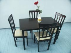Изготовление столов и стульев