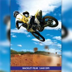 Широкоформатная печать BACKLIT FILM