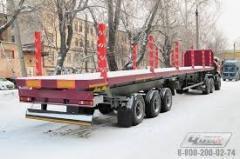 Перевозка длиномерных грузов(арматура, сваи, опоры освещения....)