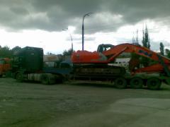 Tral 40tn.Transportare mecanizme, excavatoare.