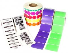 Press of labels