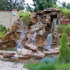 Device of rock gardens