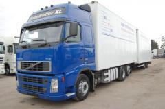 Международная перевозка грузов рефрижератором