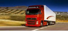 Международная перевозка грузов цельнометаллическим