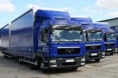Rent of the manipulator dlinomer trucks to 20 tons