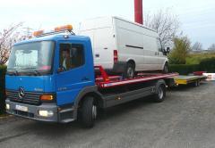 The tow truck, the manipulator across Moldova