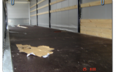 Maintenance of a floor of trailers and