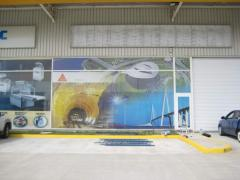 Realizare printuri One Way Vision sau Window graphics