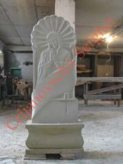 Manufacturing of monuments
