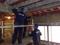 Insulating works