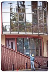 Cleaning of a mold from facades
