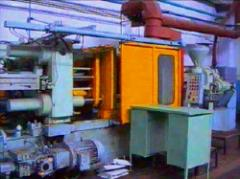 Molding of plastic under pressure, the