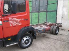 Repair of cargo vehicles, trailers