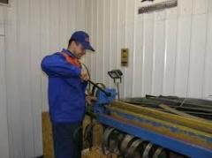 Welding of band saws