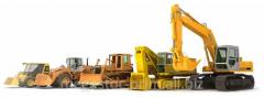 Rent of construction equipmen