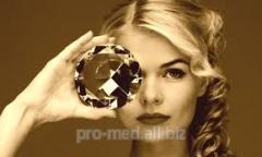 Cosmetology service Diamond microdermabrasion