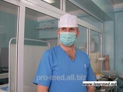 Удаление анальных бахромок и перианальных дефектов
