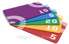 Production of a discount card
