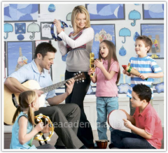 Musical development for children from the 2nd to