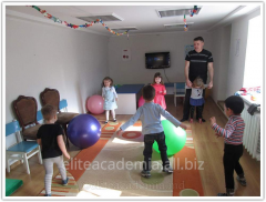 Active games for children from the 2nd to the