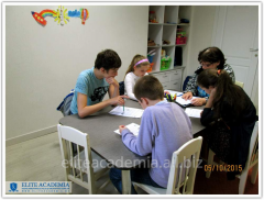 English language courses for passing an