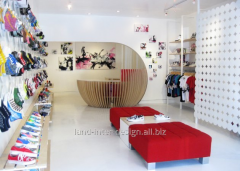 Design of shop