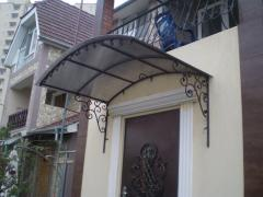 Installation of awnings