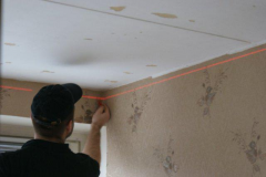 Services in installation of stretch ceiling