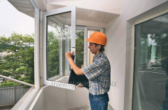 Repair of metaloplastikovy windows