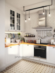 Design of small kitchen