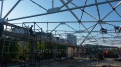Construction of a superstructure of the 3rd floor