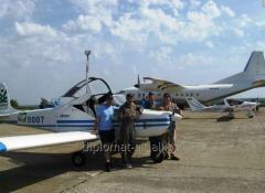 Training of pilots