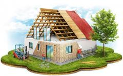 Construction of houses in Moldova