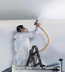 Профессиональная покраска стен в Молдове!!!