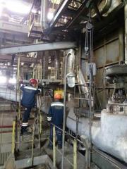 Замена трубопроводов пара и воды