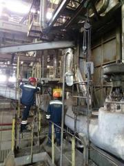Overhaul and current repair of steam turbines