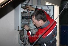 Services of the maintenance and repair of