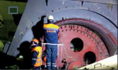 Overhaul and current repair of turbine generators,