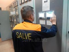 Installation, repair and adjustment of measuring
