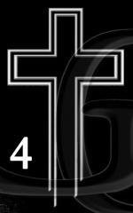 Гравировка Крест-04