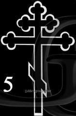 Гравировка Крест-05